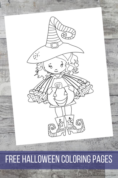 Halloween Coloring Pages Freebie!