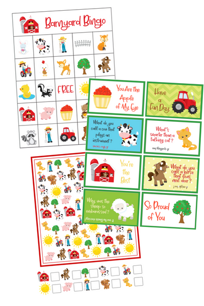 Printable Barnyard Activities