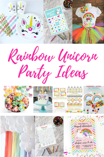 Rainbow Unicorn Party Ideas