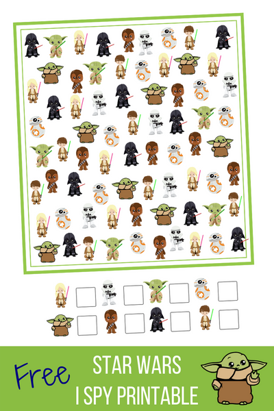 star wars baby yoda i spy game freebie