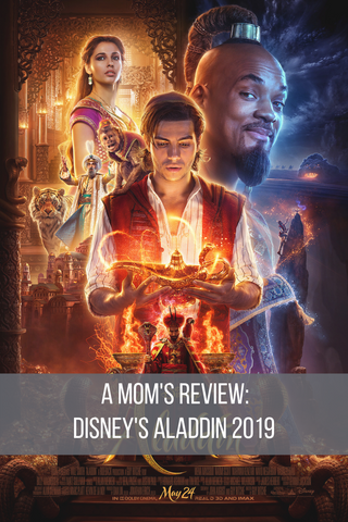 review of Disney's 2019 Aladdin live action movie