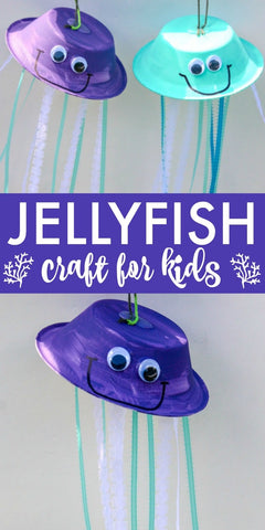 diy jellyfish craft