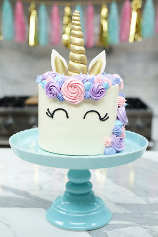 unicorn cake eyelashes