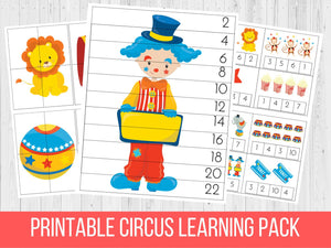 Circus Learning Pack