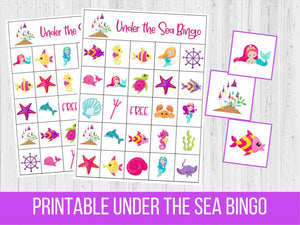 Under the Sea BINGO