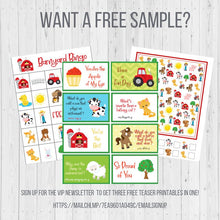 Load image into Gallery viewer, Baking BINGO Printable, Cupcake Birthday Party