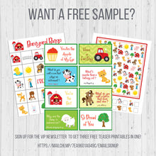Load image into Gallery viewer, Fire Truck Birthday BINGO Game, Firefighter Theme