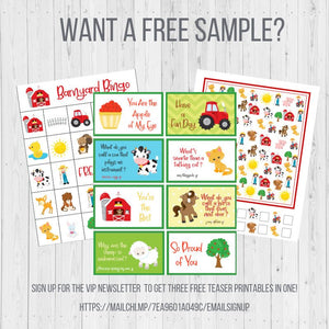 Lemonade Stand BINGO, Printable Birthday Game