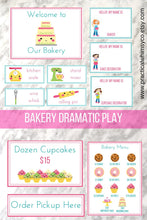 Load image into Gallery viewer, Dramatic Play Bakery Printable