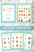Load image into Gallery viewer, Pretend Play Restaurant Menu Printable