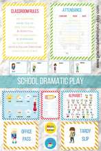 Load image into Gallery viewer, Dramatic Play School Classroom Printable