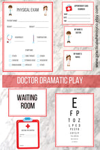 Load image into Gallery viewer, Pretend Play Doctor Office Printable