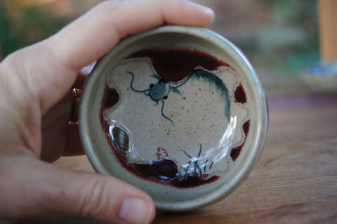 Wine Drip Fish Cup
