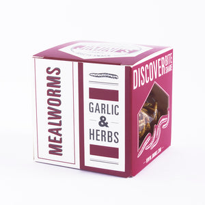 MEALWORMS - GARLIC & HERBS