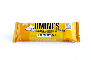 JIMINI'S ENERGY BAR - BANANA & DARK CHOCOLATE