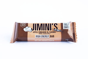 JIMINI'S ENERGY BAR - APPLE & CINNAMON