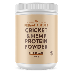PROTEIN POWDER - CHOCOLATE CRICKET & HEMP 500g