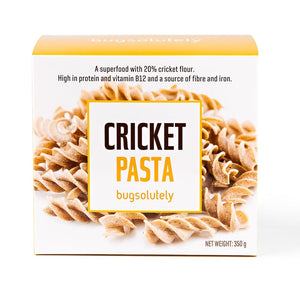 CRICKET PASTA by BUGSOLUTELY  350g