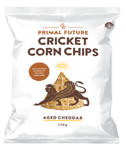 CRICKET CORN CHIPS - AGED CHEDDAR