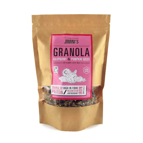 GRANOLA - RASPBERRY & PUMPKIN SEEDS