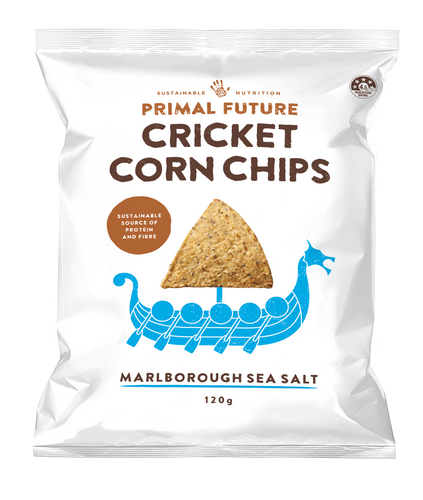 CRICKET CORN CHIPS - MARLBOROUGH SALT 120g