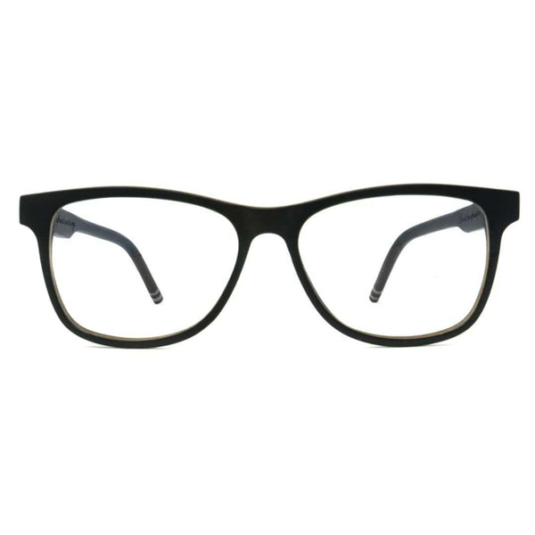Wooden Blue Light Computer Glasses - Commuter - Front