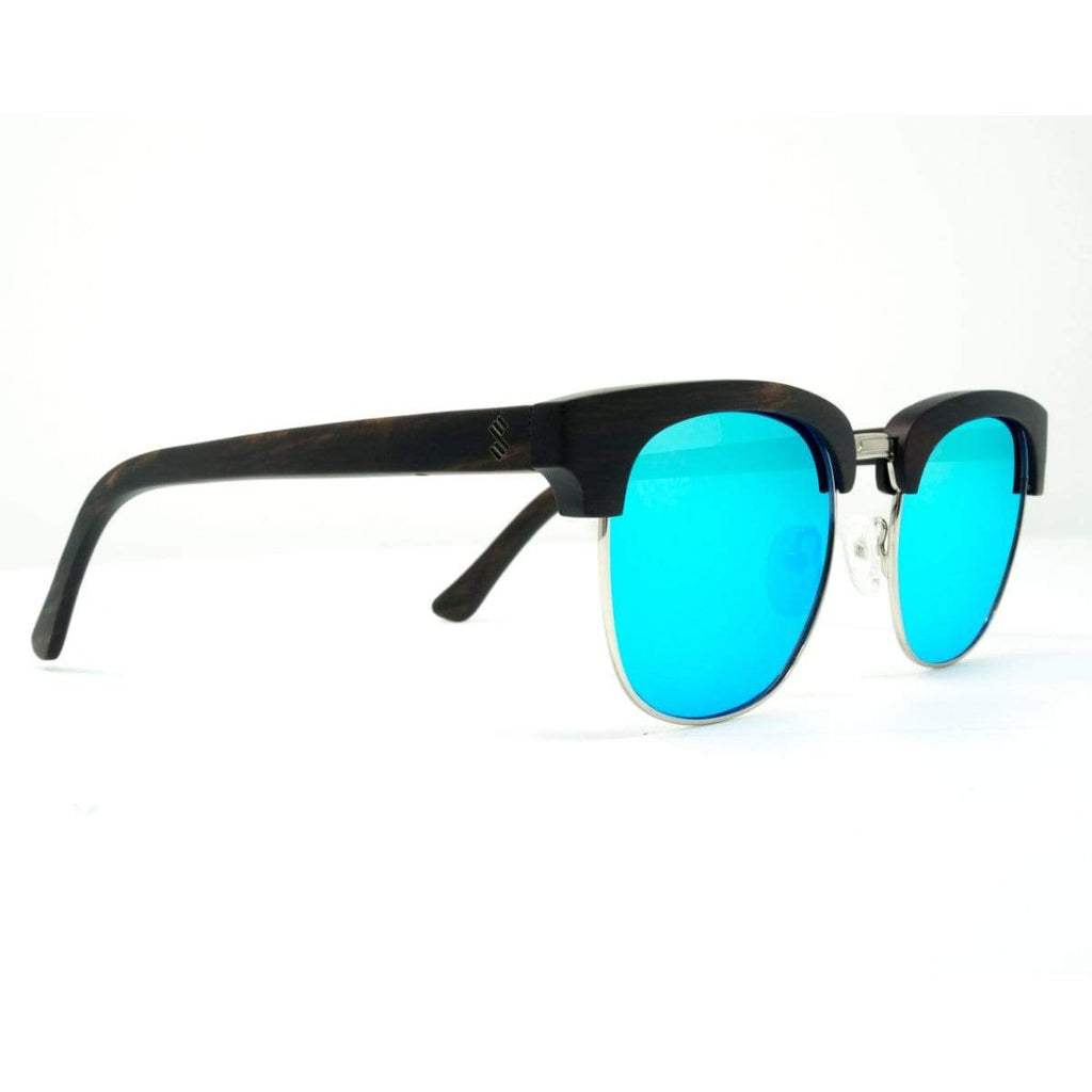 Yachtmaster - Ice Blue - Wood Sunglasses