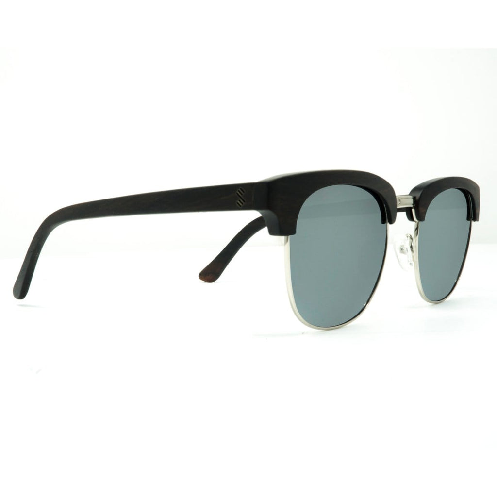 Yachtmaster - Silver - Wood Sunglasses