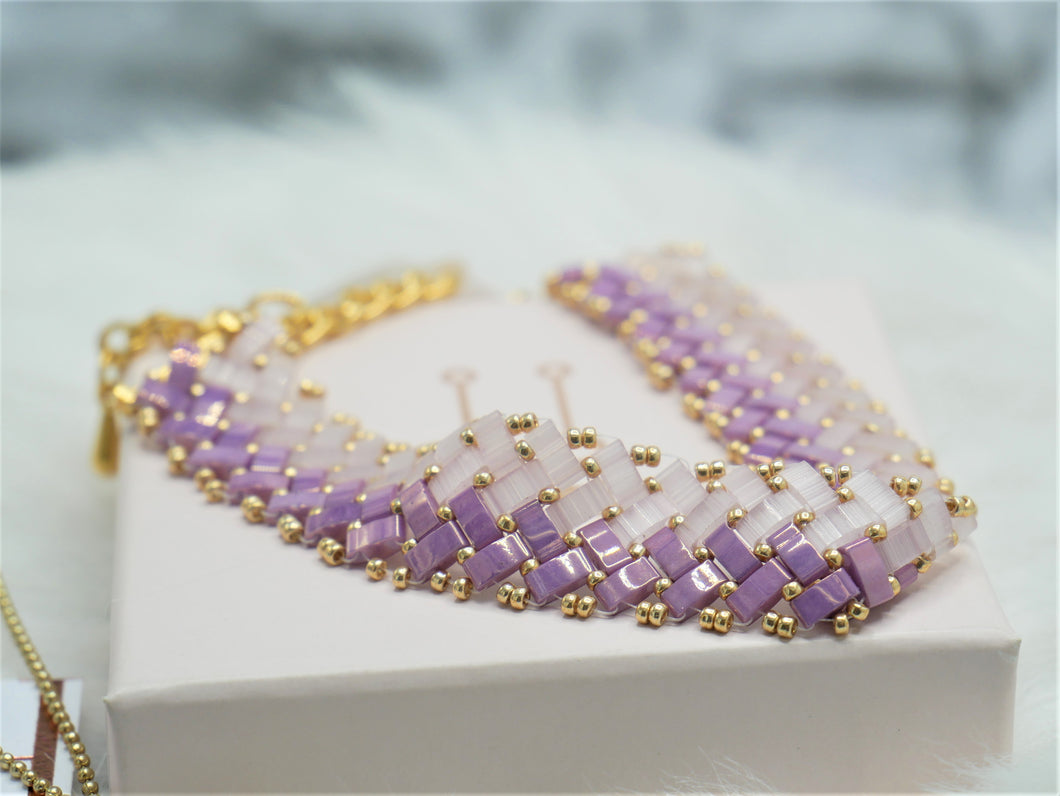 tila bracelet purple