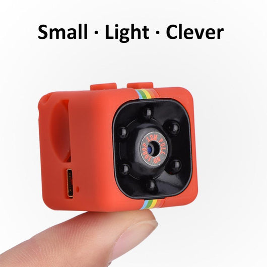 Smallest Full 1080P HD Video Camera with Night Vision, Motion Detection, & Voice Recording