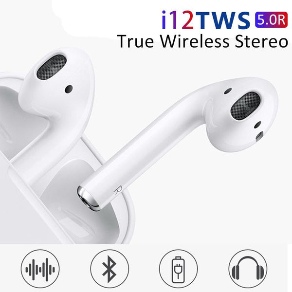 i12 TWS Airpods with Charging Case