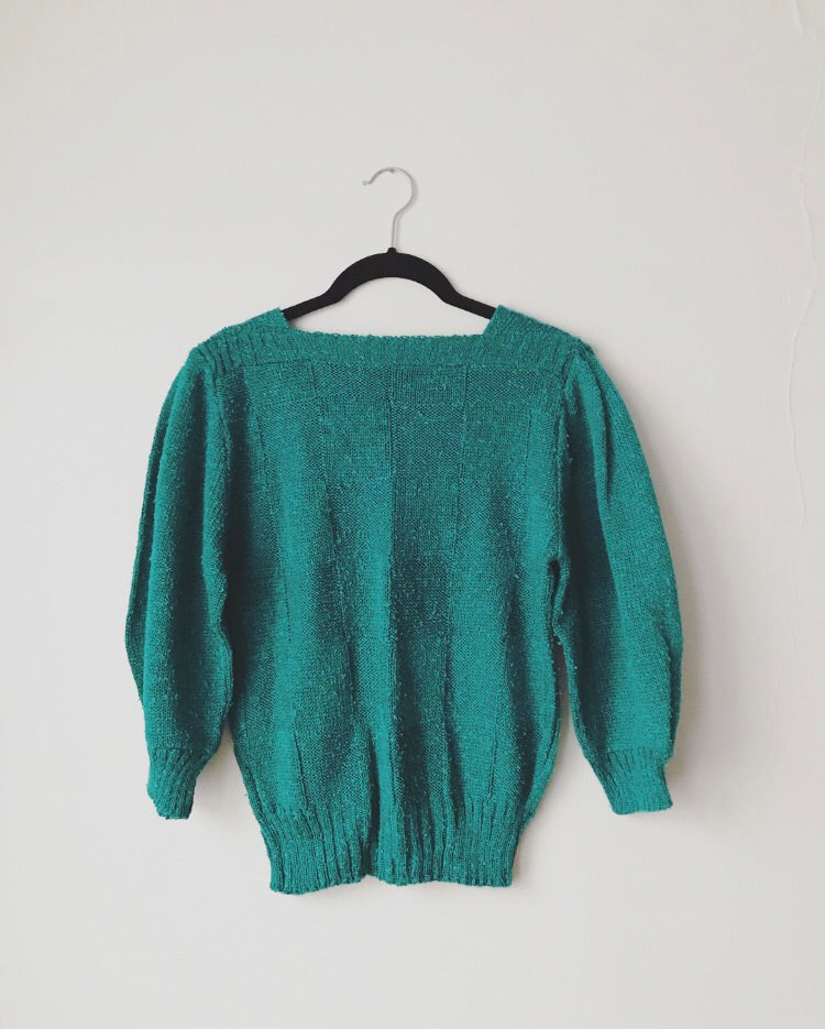 Vintage Boatneck Sweater