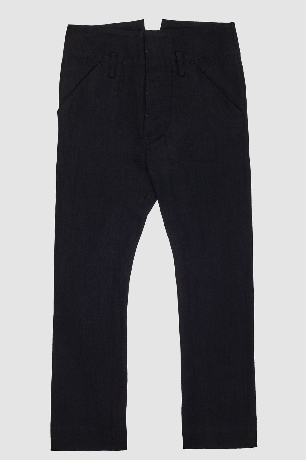 Low Crotch Pants Black