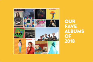 Original Fuzz Magazine favorite albums from 2018