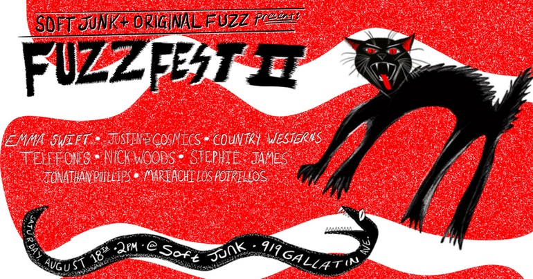 Featured photo for Fuzz Fest 2 Is Happening Saturday, August 18th @ Soft Junk