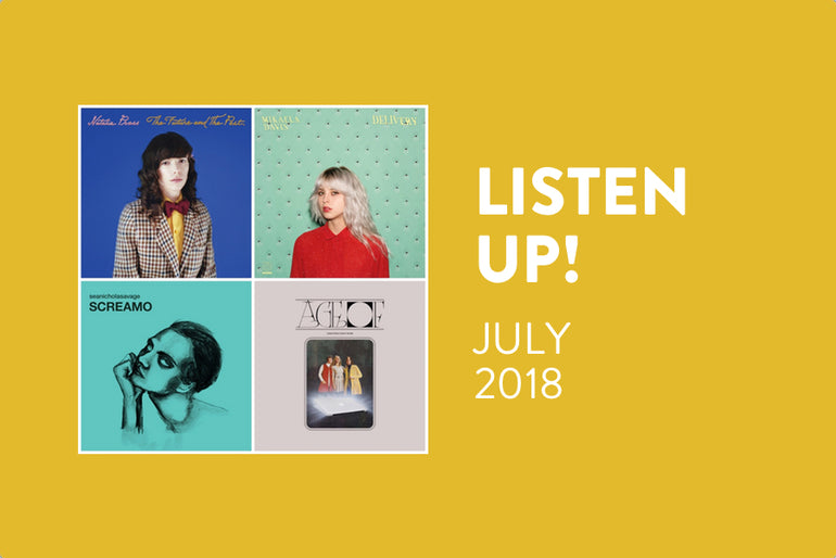 Featured photo for Listen Up! New Albums to Play Loud in July