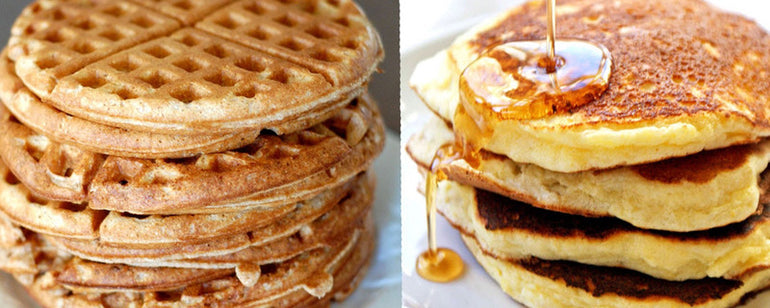 Featured photo for Mark's Mailbag: Waffles or Pancakes
