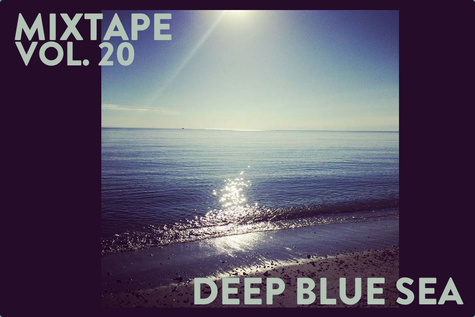 Featured photo for Original Fuzz Mixtape Vol. 20 // Deep Blue Sea