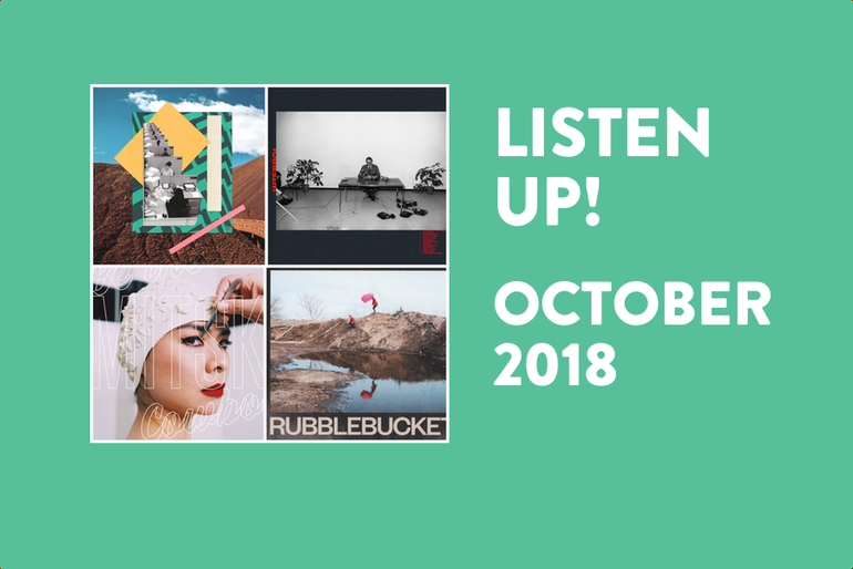 Featured photo for Listen Up! New Albums to Play Loud in October (2018)