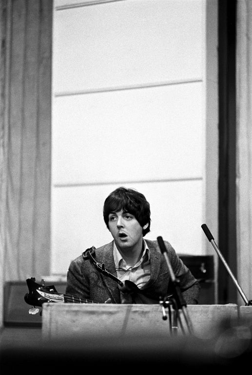 Featured photo for The Secret to Paul's Bass Sound on the Later Beatles Records