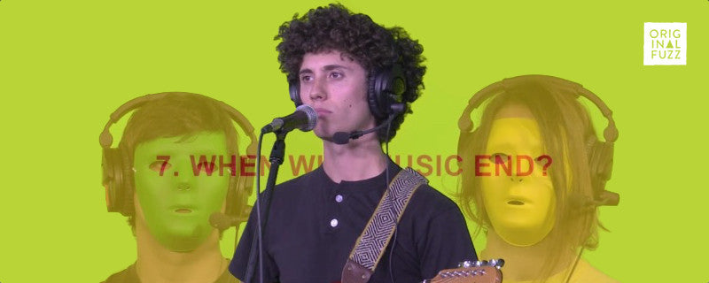 Ron Gallo and RG3 Perform