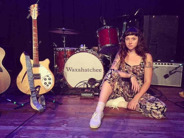 Featured photo for Vintage Fuzz Strap Spotted on VICE News with Waxahatchee