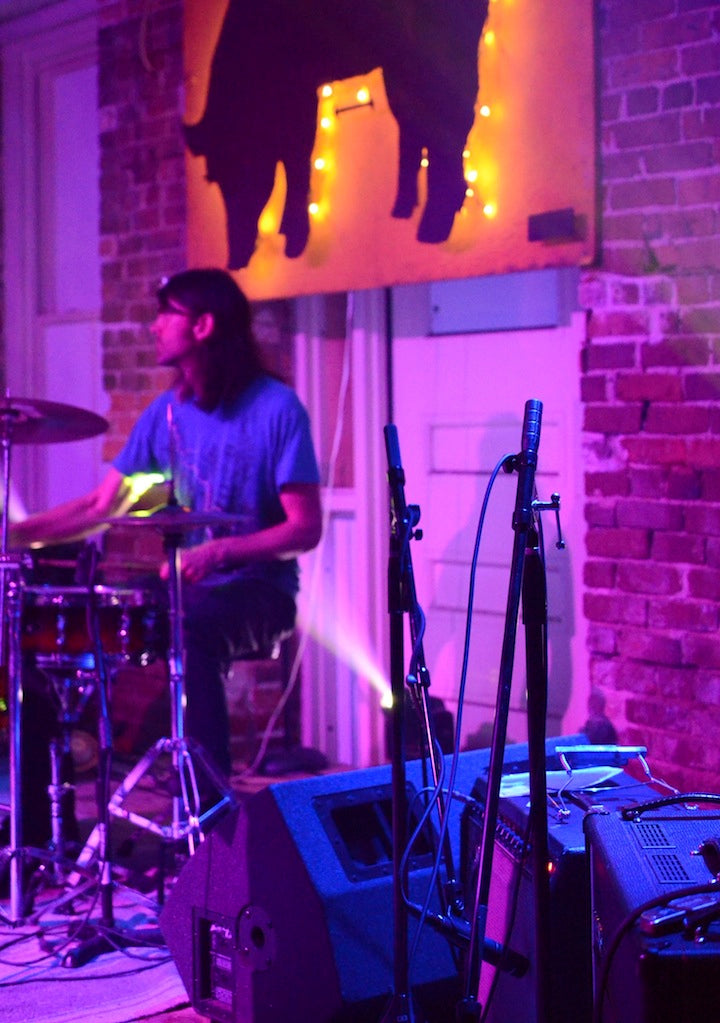 David MacNutt on drums for The Michelles
