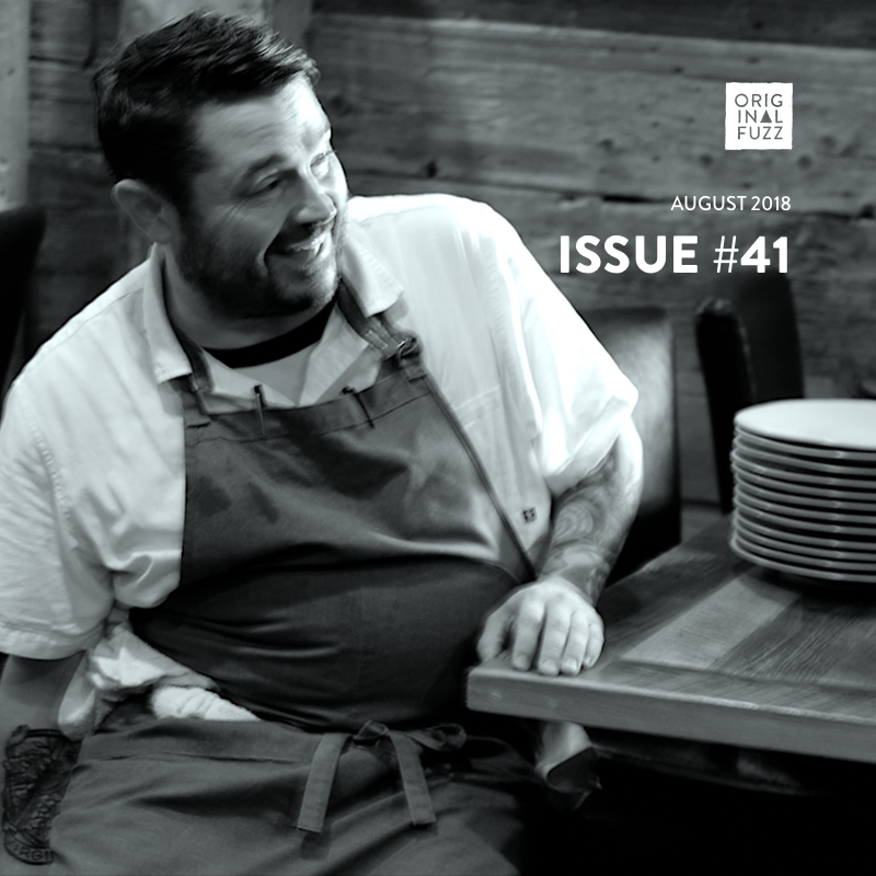 Original Fuzz Magazine Issue 41 cover image with Chef Sean Brock