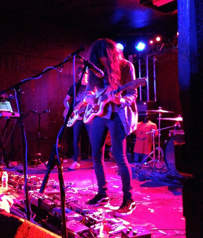 Kurt Vile rocks a Jaguar that J Mascis gave him