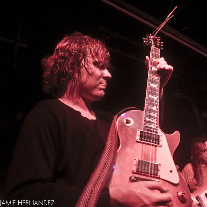 Ty Segall at the Mercy Lounge in Nashville with a Fuzz Strap Photo 1 of 3 by Jamie Hernandez