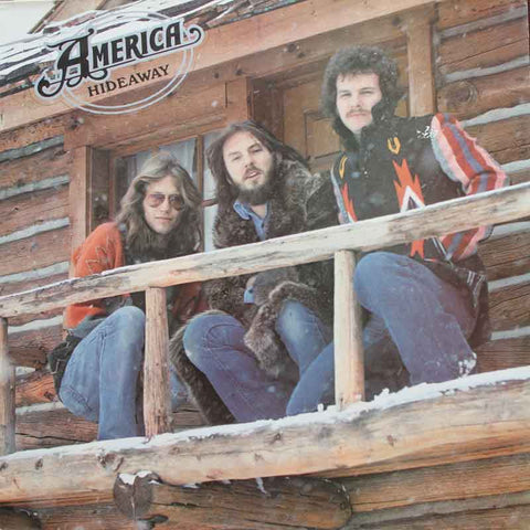 America 'Hideaway' released in 1976 and produced by George Martin.