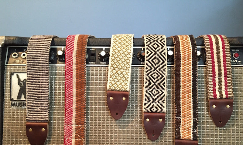 Preview of our new Fall Collection of Peruvian guitar straps
