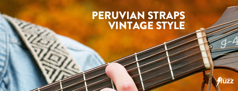 Peruvian Straps with Vintage Style. Our Fall Collection is Here