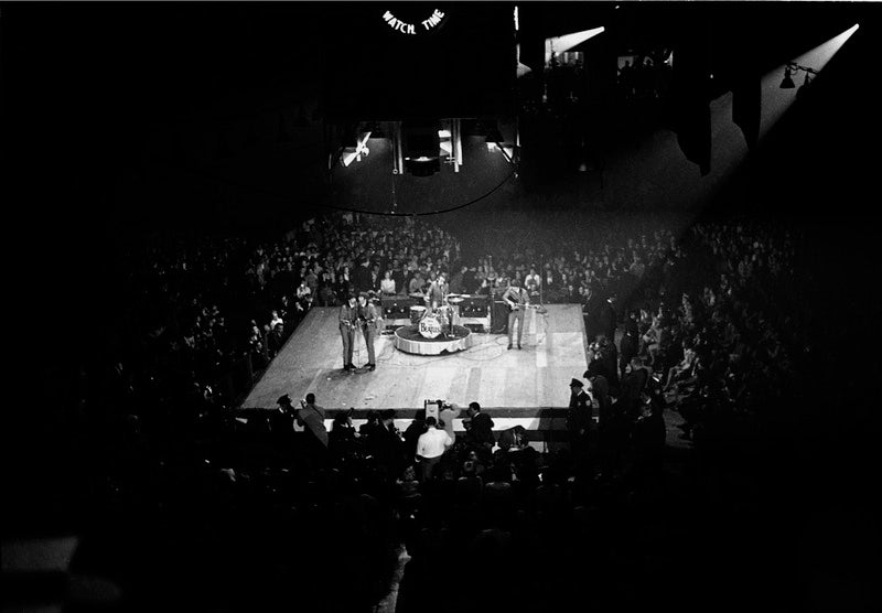 View of the Washington Coliseum during a Beatles Concert, February 11, 1964